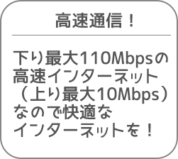高速通信!