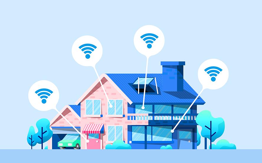 Wi-Fiの死角ゼロへ!※1